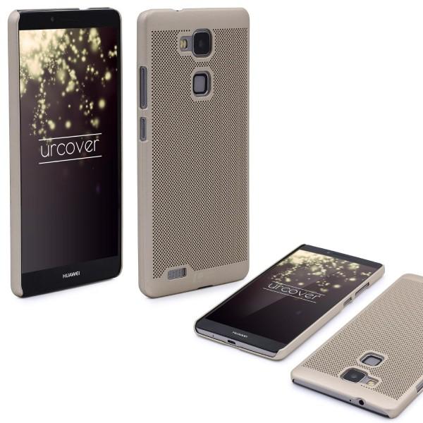 Huawei Mate 7 Schutzhülle TOP HAPTIK Cover Back Case Bumper Hülle Schale