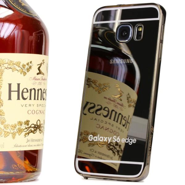 Urcover® Samsung Galaxy S6 Edge Spiegel Back Case Schutzhülle Spiegelhülle Cover