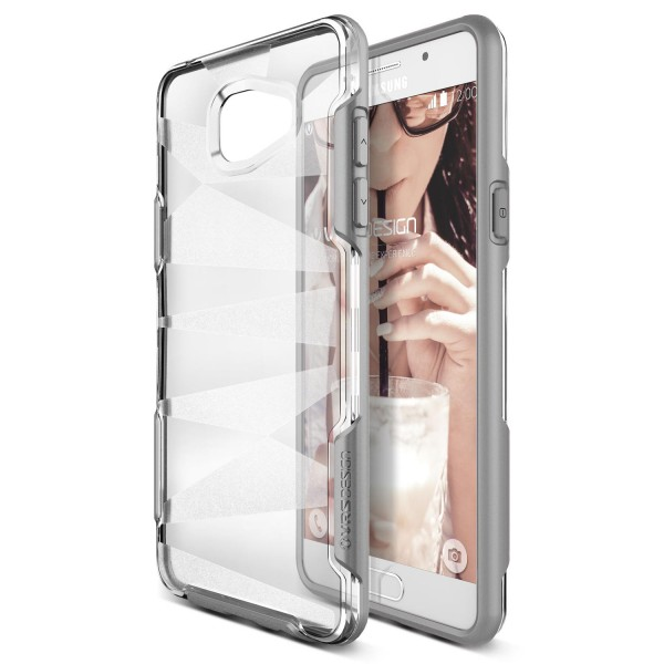 Urcover® Samsung Galaxy A7 (2016) TPU Back Case Schutz Hülle klare Rückseite