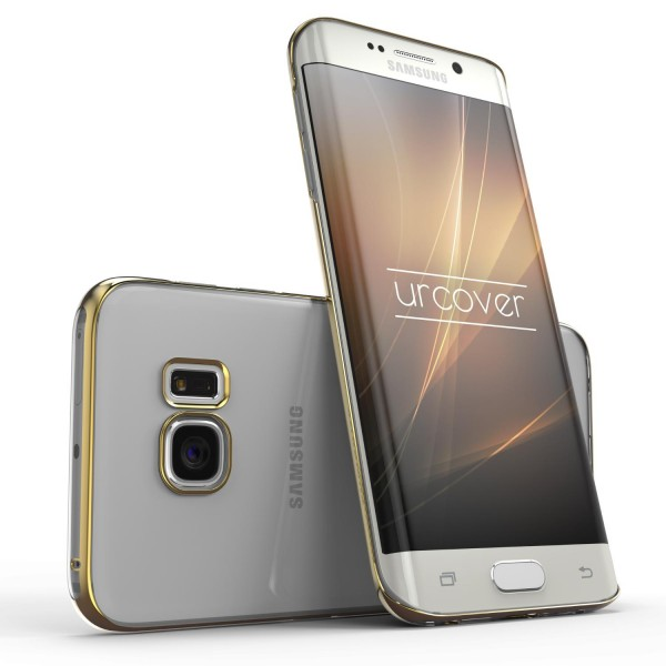Urcover® Samsung Galaxy S6 Edge Plus Kunststoff Soft Back Case Cover Klar Bumper