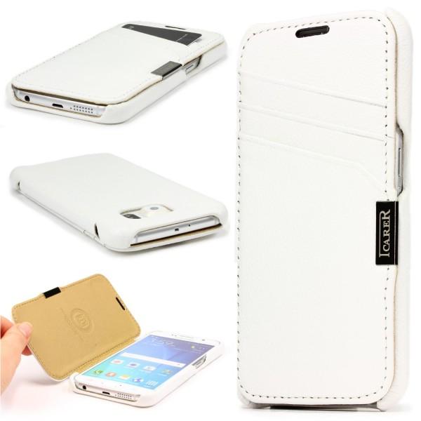 Urcover® Samsung Galaxy S6 Schutzhülle Wallet Kartenfach Case Cover Etui Tasche