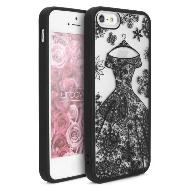 Urcover® Apple iPhone 5 / 5s / SE Bride Edition Backcase Cover Schale Brautkleid