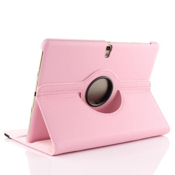 Original UrCover® 360 Grad Galaxy Tab S 10.5 SM-T805 Cover Case Schutz Hülle Etui Schale Rot