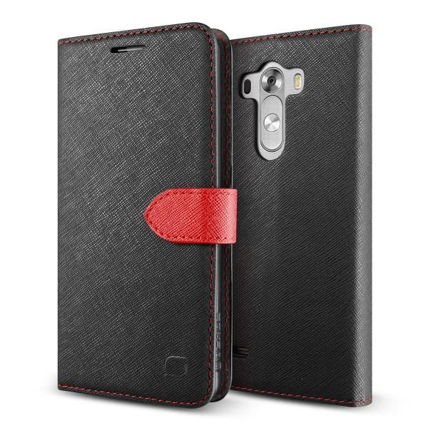 Urcover LG G3 Klapp Schutz Hülle Flip Wallet Kartenfach Case Standfunktion Cover