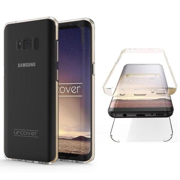 Urcover Samsung Galaxy S8 Touch Case 2.0 Hard Edition berühmt durch Galileo Rundum 360° Crystal Clear Schutzhülle