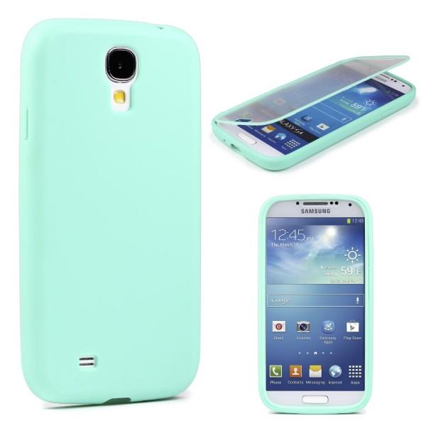 Samsung Galaxy S4 TOUCH CASE Display Schutz Hülle Schale Rundum Cover Tasche