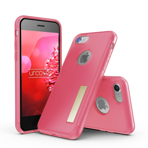 Urcover® Apple iPhone 7 Schutz Hülle mit Standfunktion Soft Case Cover Schale