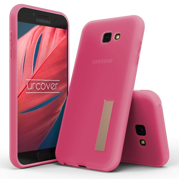 Urcover® Samsung Galaxy A5 (2017) TPU Case Standfunktion Schutz Hülle Cover Case Etui Schale