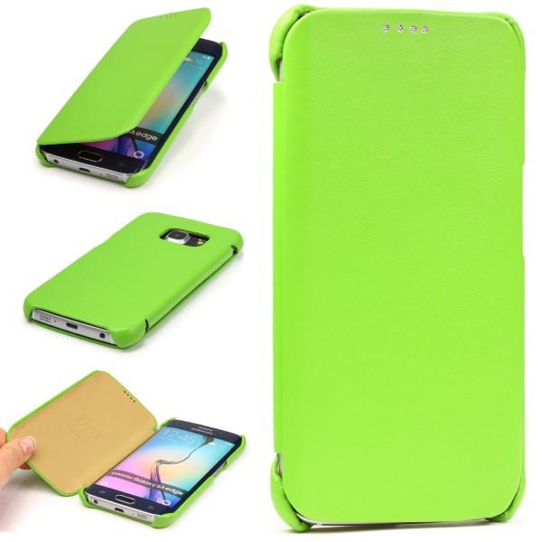 Urcover® Samsung Galaxy S6 Edge Schutz Hülle Wallet Kartenfach Case Cover Etui