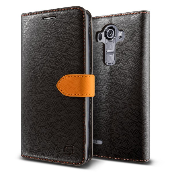 Urcover® LG G4 Extra Slim Klapp Schutz Hülle Case Cover Etui Kartenfach Tasche
