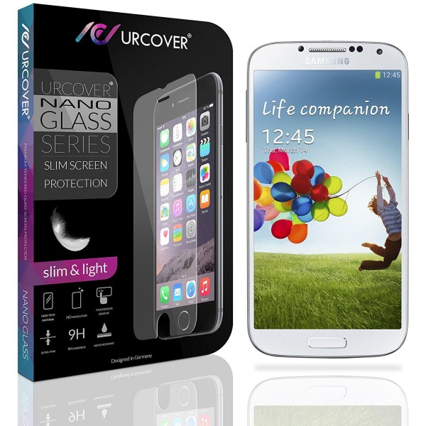 Samsung Galaxy S4 Echt Hart Glas Panzer Display Schutz Folie Ultra Slim Clear