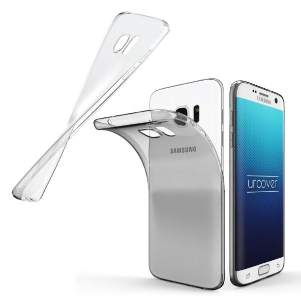 Samsung Galaxy S7 Edge Ultra Slim Soft Backcase Kamera Schutz Hülle Cover Case