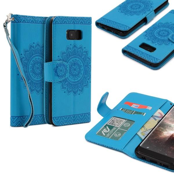 Samsung Galaxy S8 Plus Wallet Klapp Schutz Hülle Stand Flip Case Cover Etui