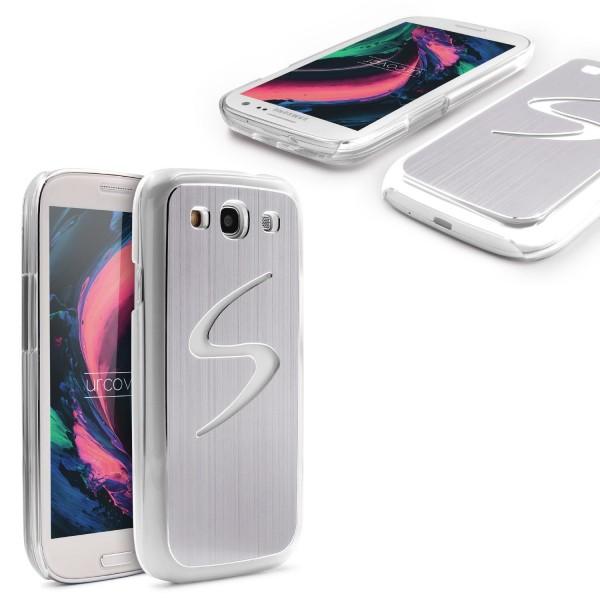 Samsung Galaxy S3 Alu LED Back Case Schutz Cover Leucht Licht Hülle Schale