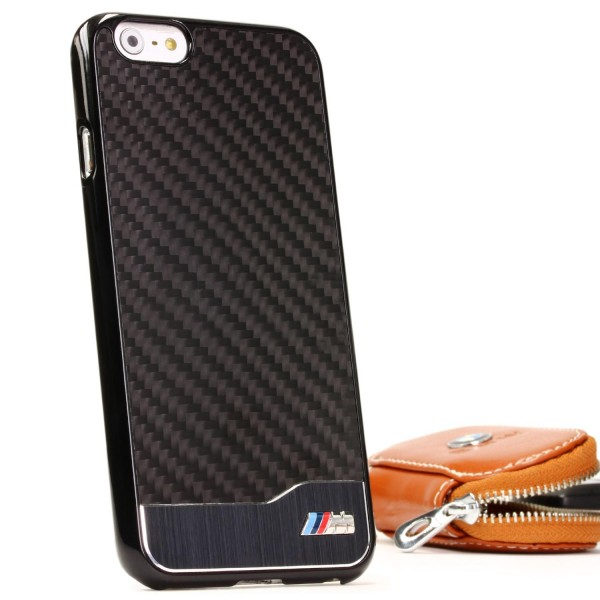 BMW Real Carbon Case Schutzhülle Cover Etui Hülle Apple iPhone 6 / 6s