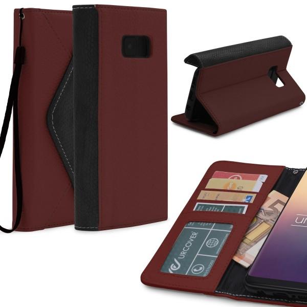 Urcover® Samsung Galaxy S8 Plus Schutz Hülle Karten & Geld Fach Case Cover Etui