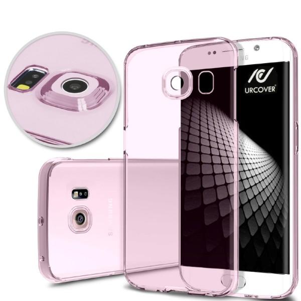 Samsung Galaxy S6 Edge Slim Backcase Kamera Schutz Hülle Silikon Cover Case Etui