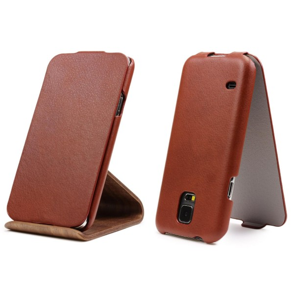 Urcover® Samsung Galaxy S5 Kunstleder Flip Tasche Wallet Etui Case Cover Schale