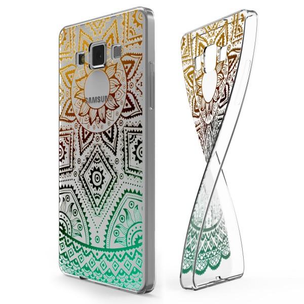 Urcover® Samsung Galaxy A7 (2015) Schutz Hülle Case Cover Tasche Silikon Soft