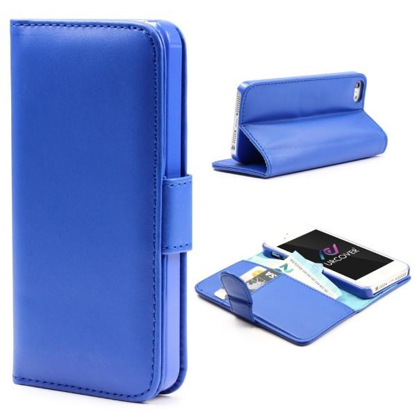 Urcover Apple iPhone 5 / 5s / SE Kunststoff Schutz Wallet Klapp Hülle Case Cover