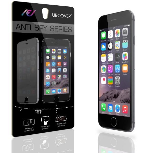 Urcover® Apple iPhone 6 / 6s Anti Spy Bildschirm Blickschutz Folie Displayfolie