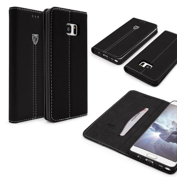 Samsung Galaxy Note 7 Schutz Hülle Wallet Case Flip Cover Kartenfach Schale Etui