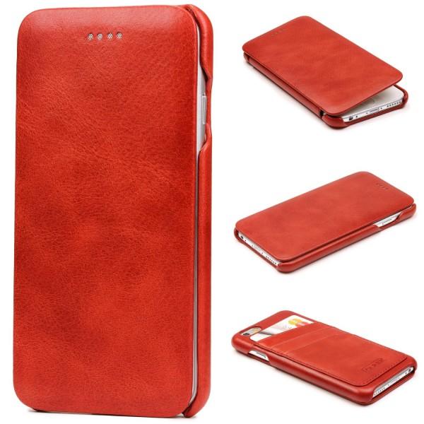 Urcover® Apple iPhone 6 / 6s Kunstleder Wallet Flip Schutz Hülle Cover Case Etui