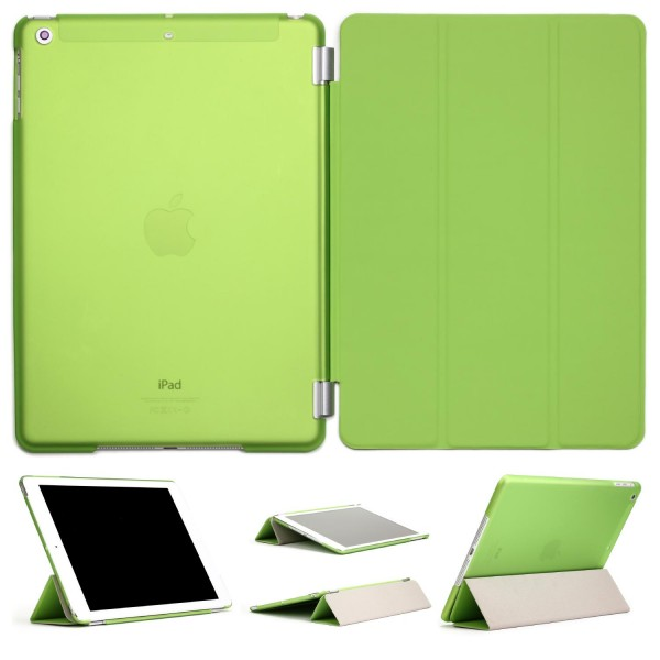 Apple iPad Air 2 Smart Cover Transparent Stand-Funktion Tablet Schutz-Hülle