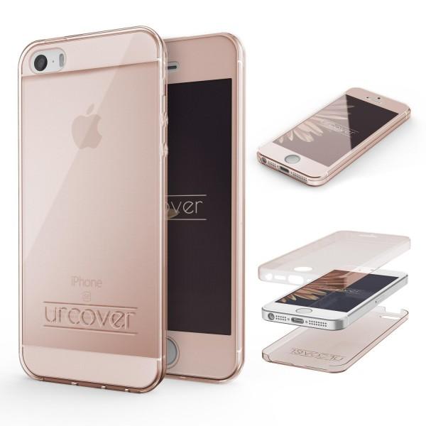 Apple iPhone 5 / 5s / SE TPU Case 360 Grad Schutz Hülle Etui Cover Touch Case