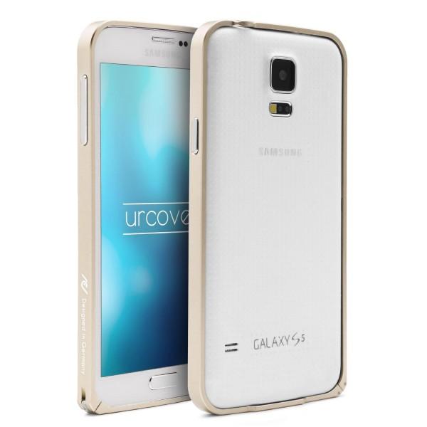 Urcover® Samsung Galaxy S5 Alu Bumper Schutz Hülle Case Cover Tasche Etui Schale