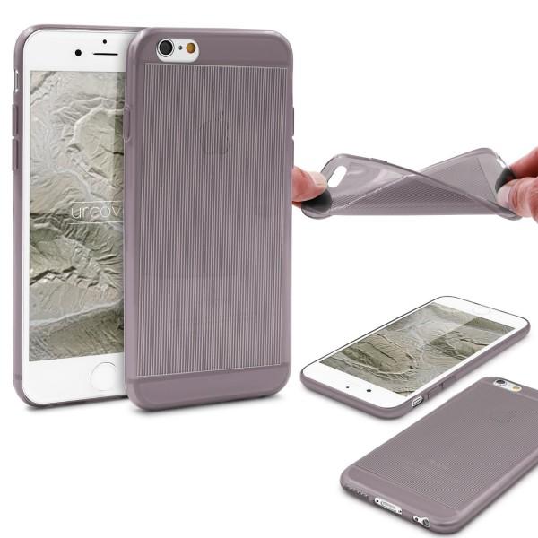 Urcover Apple iPhone 6 / 6s Back Case Transparente Design Schutzhülle Case Cover