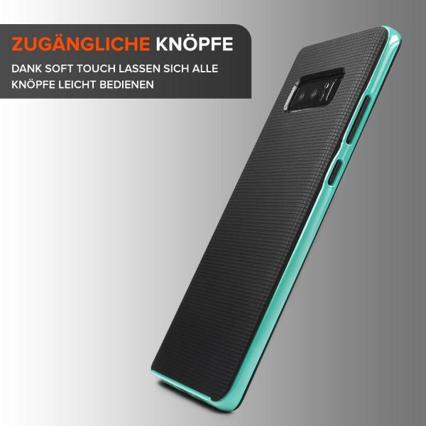 Urcover Samsung Galaxy Note 8 Case Slim Dual Layer Handy Schutzhülle Case Cover Hybrid Tasche Schale