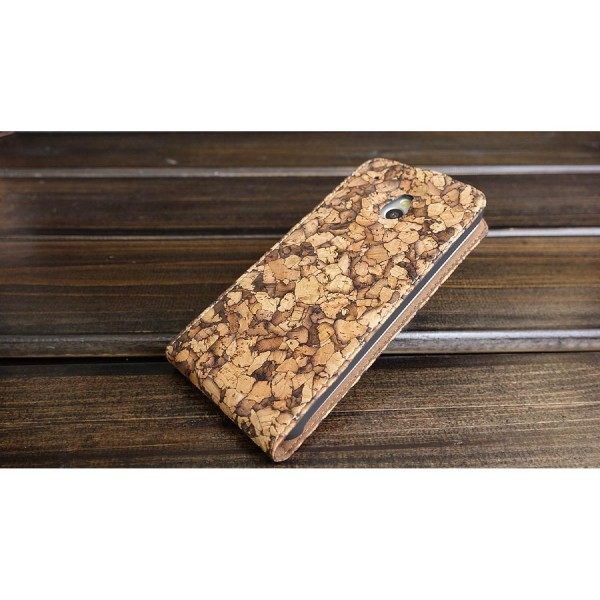 Urcover® HTC M7 Mini Flip Wallet Schutz Hülle Case Cover Etui Schale Tasche