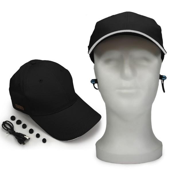 Urcover® Bluetooth Stoff Kappe Sommer Gadget Style Musik kabelose Kopfhörer