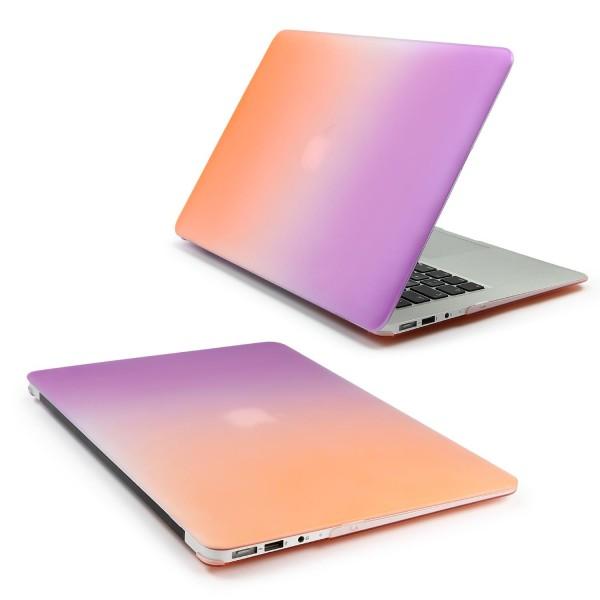 Urcover® Schutz Tasche Macbook Retina 12 Zoll Full Hard Cover Smart Case