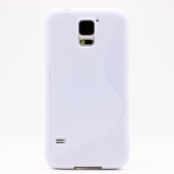 Urcover® Samsung Galaxy S5 S-Line Schutzhülle Back Case Schutz Cover Schale Etui