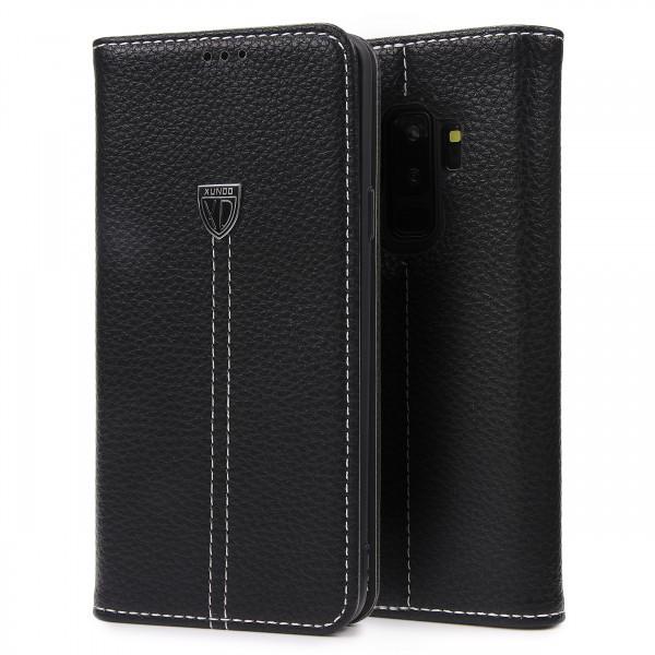 Handy Schale für Samsung Galaxy S9 Plus Schutz Hülle Case Cover Wallet Flip Etui