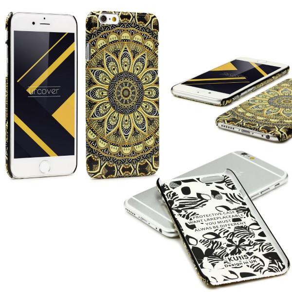 Urcover® Apple iPhone 6 Plus 6s Plus Mandala Schutz Hülle Back Case Cover Schale