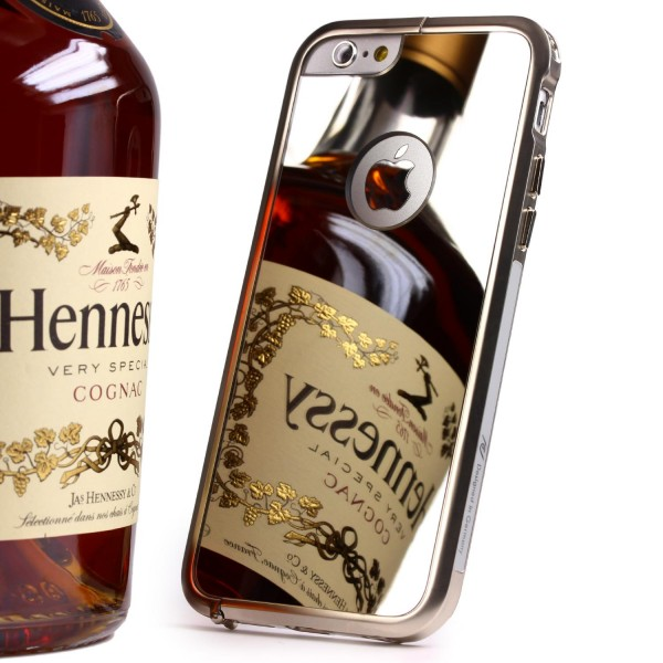 Urcover® Apple iPhone 6 / 6s Spiegel Back Case Schutzhülle Spiegelhülle Cover