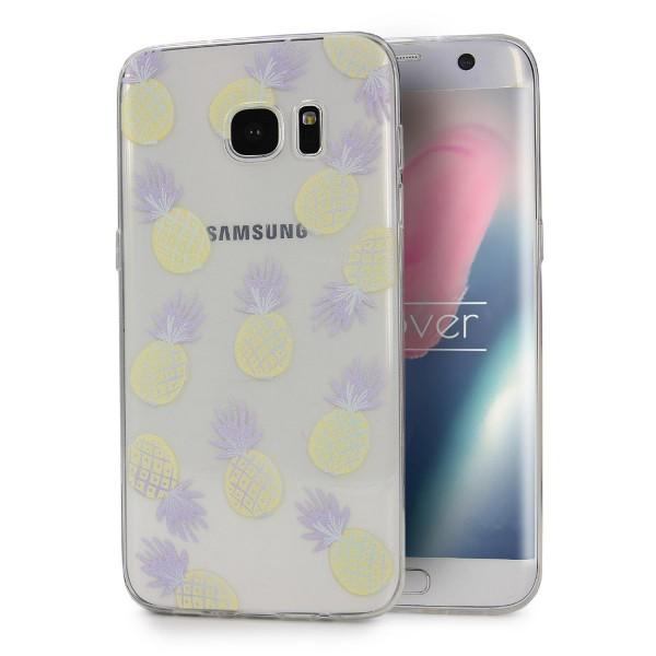 Urcover® Samsung Galaxy S7 Edge Design Back Case Kameraschutz Schutzhülle Cover