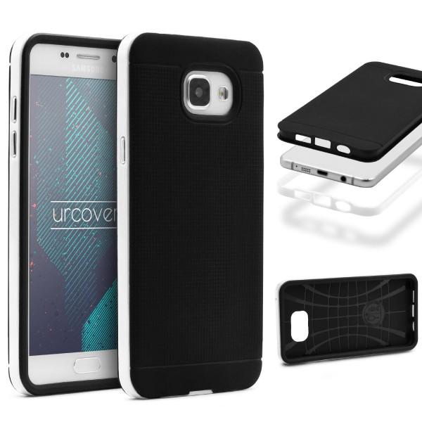 Samsung Galaxy A3 (2016) Schutz Hülle Carbon Style Karbon Optik TPU Case Cover