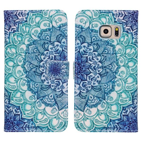 Samsung Galaxy S6 Edge Handy Schutz Hülle Cover Case Wallet Klapphülle Schale