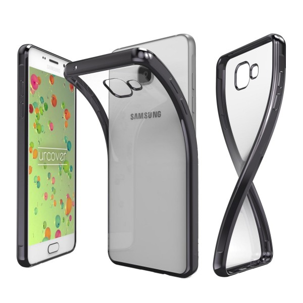 Samsung Galaxy A5 (2016) TPU Silikon Handy Schutzhülle Spiegel Back Case Cover