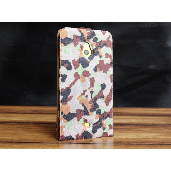 Urcover® Nokia Lumia 1320 Tarn Optik Schutz Hülle Case Cover Etui Flip Wallet