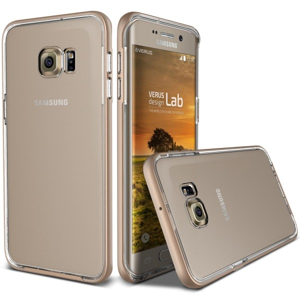 Samsung Galaxy S6 Edge Plus Handy Schutz Hülle Case Crystal Bumper Schale Cover