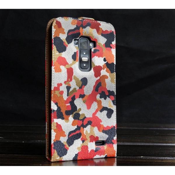 Urcover® LG Flex Kunststoff Flip Schutzhülle Tarn Optik Case Cover