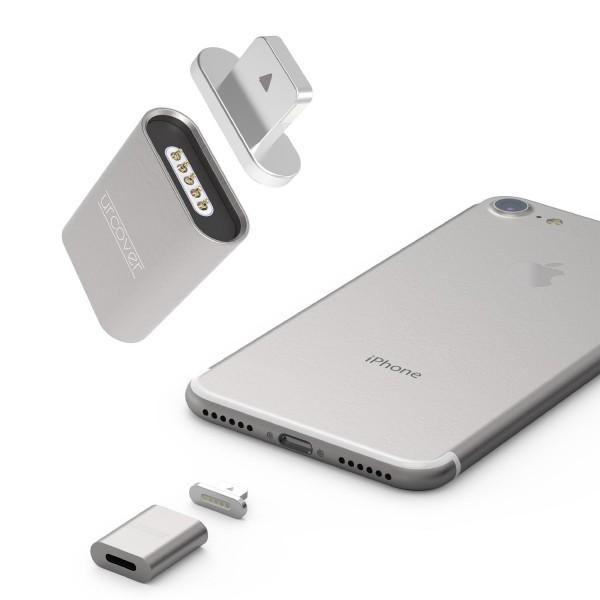 Snap Adapter Lightning Magnetisches Ladekabel aufladen Apple Ladeadapter