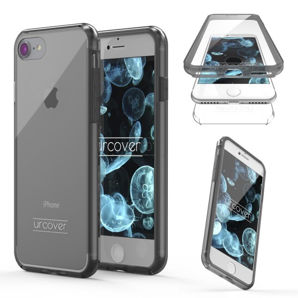 Urcover Apple iPhone 7 Touch Case 2.0 Hard Edition berühmt durch Galileo Rundum 360° Crystal Clear Schutzhülle