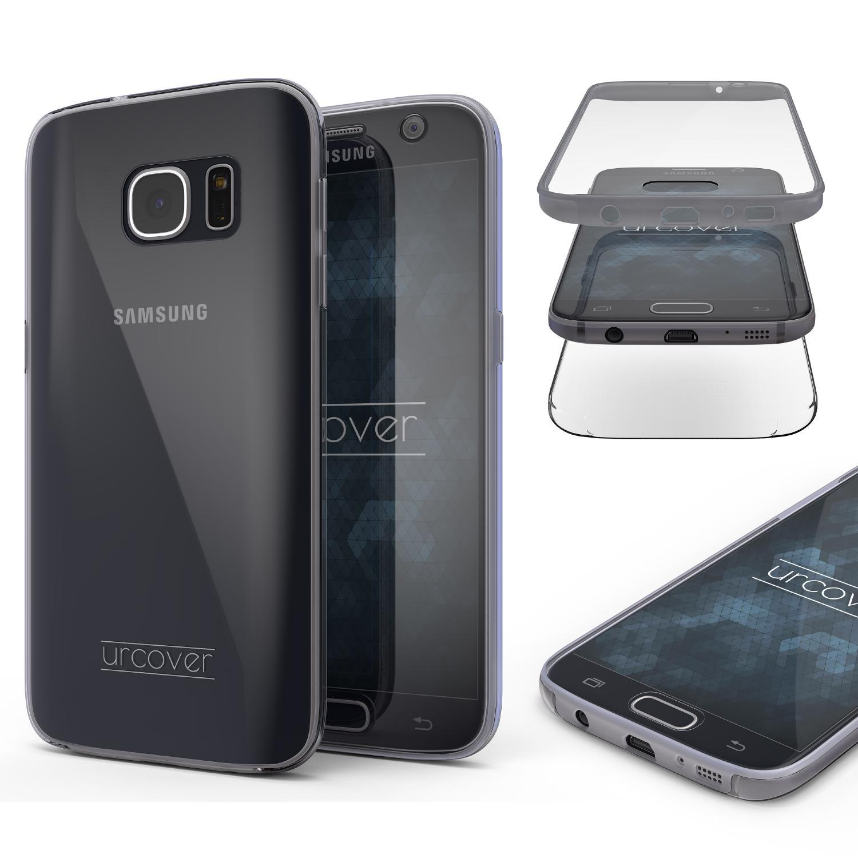 Samsung Galaxy S7 Touch Case 2018 Handy Schutz Hülle 360° Rundumschutz Bumper 360 Grad Galaxy S7 Smartphone Samsung