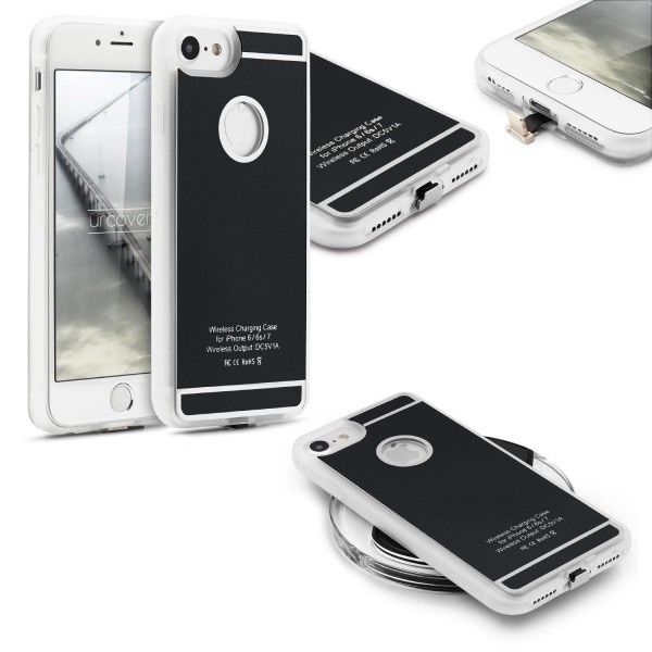 Apple iPhone 6 & iPhone 7 Qi Back Case Ladefunktion Kabellos Laden Hülle